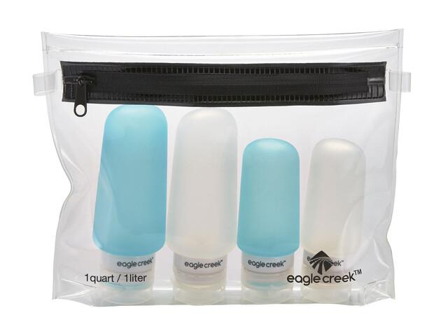 Eagle Creek Pack-It Silicone - Para tener el equipaje ordenado - azul/transparente